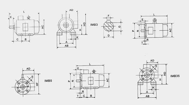 三相异步电动机Y2系列 三相异步电动机型号字母表示的含义   J——异步电动机; O——封闭; L——铝线缠组; W——户外; Z——冶金起重; Q——高起动转轮; D——多速; B——防爆; R一绕线式; S——双鼠笼; K一—高速; H——高转差率。 三