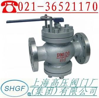 给水回转式调节阀适用于中,低压锅炉给水管道和高压加热器疏水管上图片
