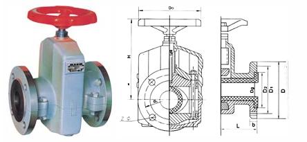 管夹阀的详细资料:  ◆结构图片