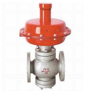 电子式电动调节通风蝶阀  zzcp/n自力式压差调节阀安装在中压锅炉给水图片