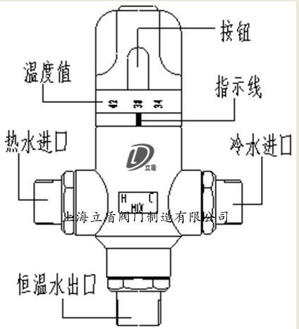 太阳能热水器专业恒温阀|恒温混水阀|恒温混水阀价格图片