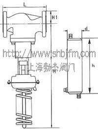 v230d01自力式压力调节阀结构图