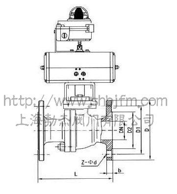 d641f-16c-气动球阀图片