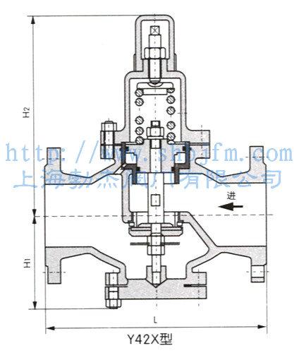 y42x减压阀结构图图片